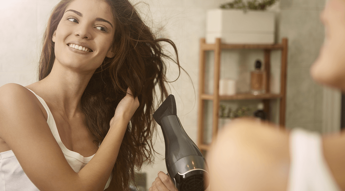 blow drying tips