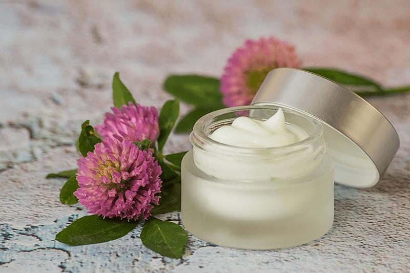 jar of face cream