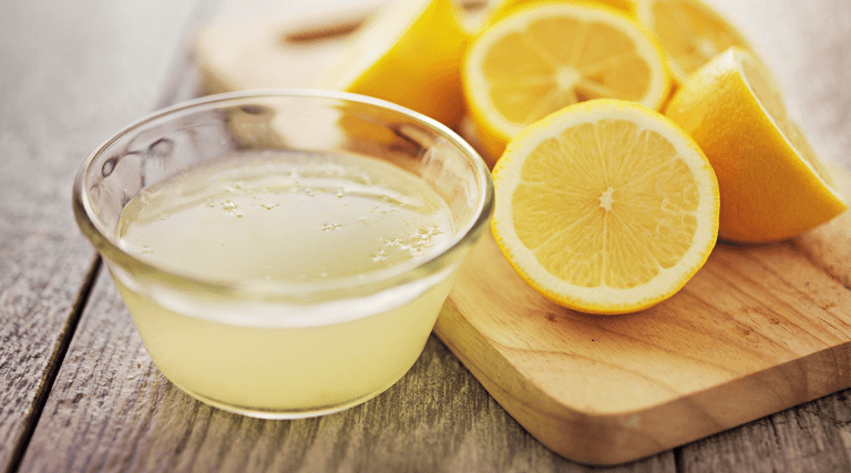 lemon juice and olive oil make a great nail whitening treatment