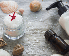 ingredients for sea salt shampoo