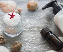 ingredients for sea salt shampoo