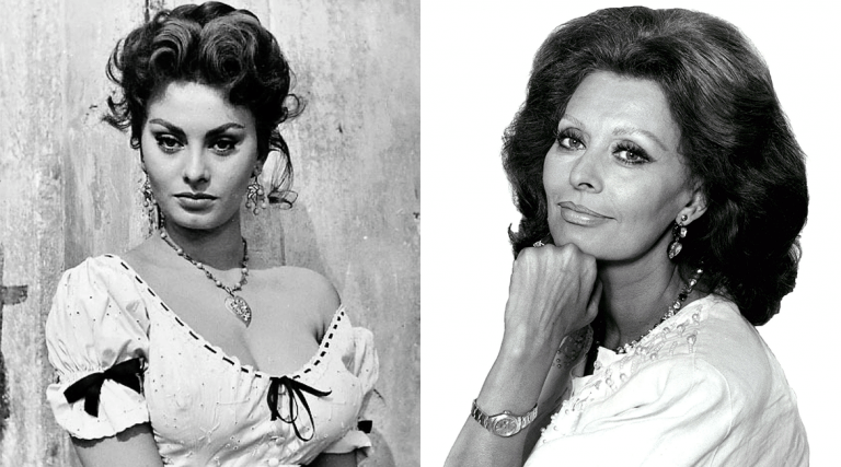 Sophia Loren is beautiful at every age