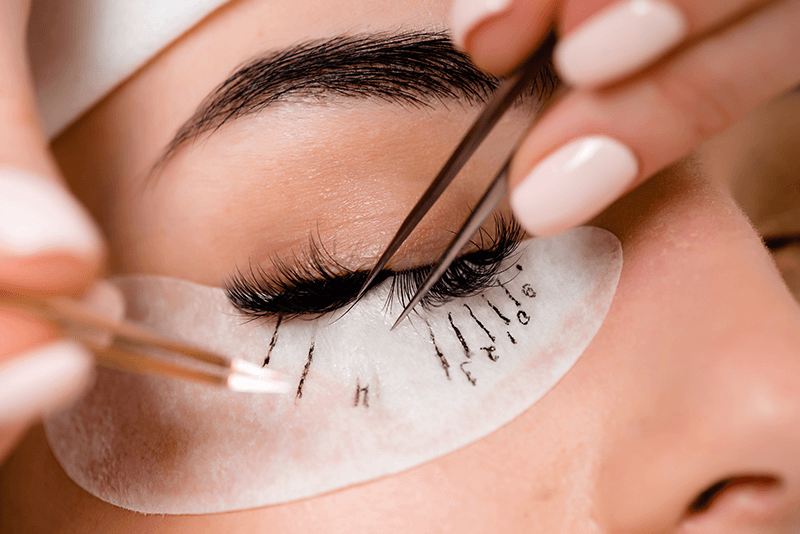 eyelash lift procedure