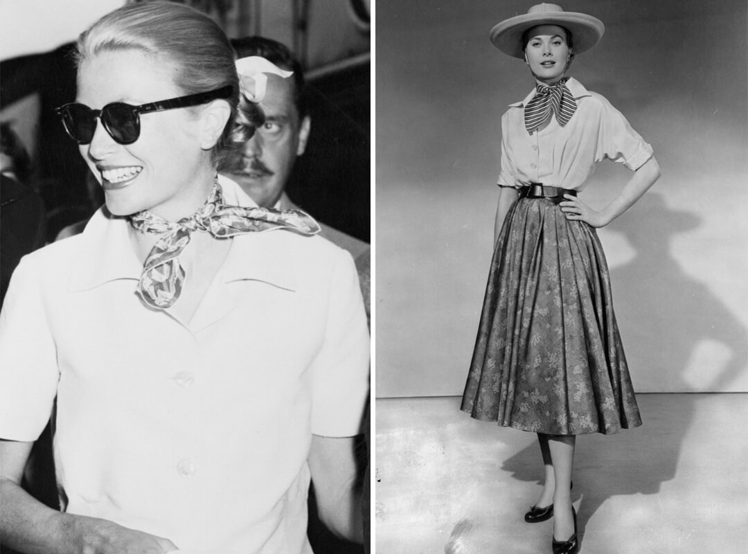 Photos of Grace Kelly wearing a French Knot