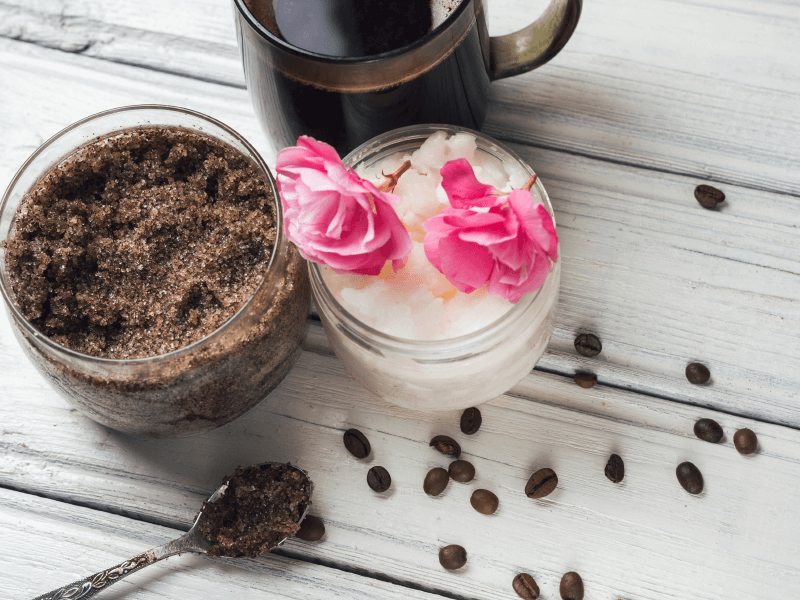 DIY Coffee Haircare