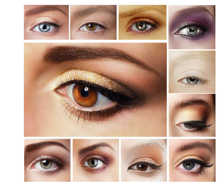 eyeshadow color combinations | City Beauty